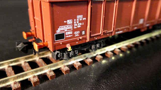 Offener Güterwagen Bauart Eas der DR