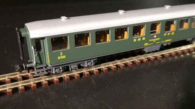 Schnellzugwagen-Set 2-tlg. der SBB