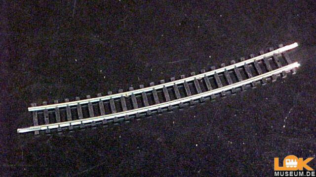 Gebogenes Gleis R5 - 15 Grad