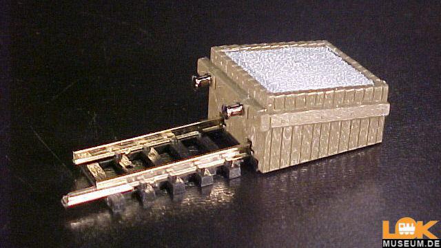 Gleis mit Kastenprellbock