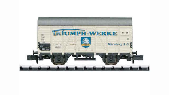 Gedeckter Güterwagen der DB