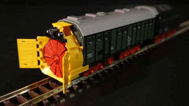 Dampfschneeschleuder der DB