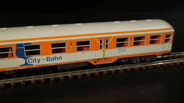 Wagen-Set City-Bahn