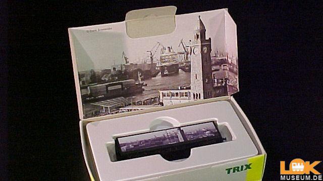 Güterwagen Hamburger Hafen