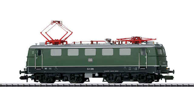 Elektrische Lokomotive E 41 der DB