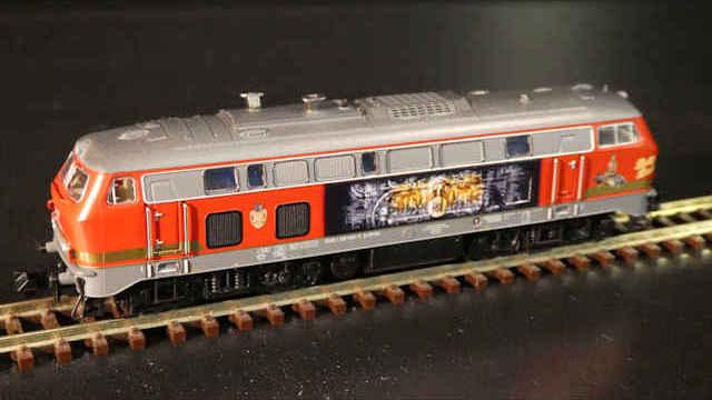 Diesellokomotive 218 469-5 der RP