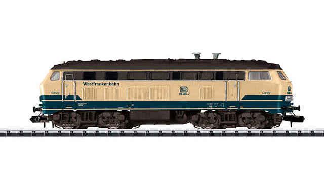 Elektrolokomotive BR 218 der DB AG