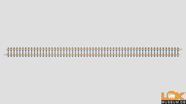 Gerades Gleisstück 220 mm Beton