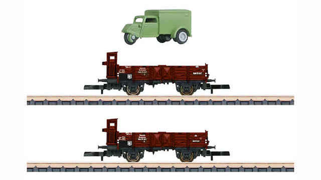Güterwagen-Set O 10