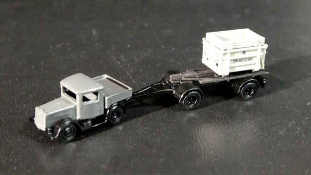 Güterwagen-Set Von Haus zu Haus