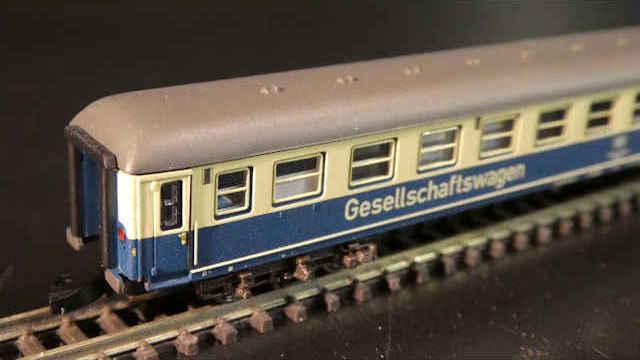 Gesellschaftswagen der DB