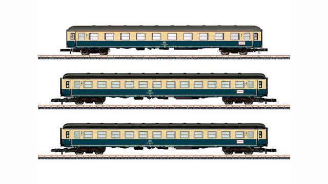 Personenwagen-Set Abteilwagen der DB