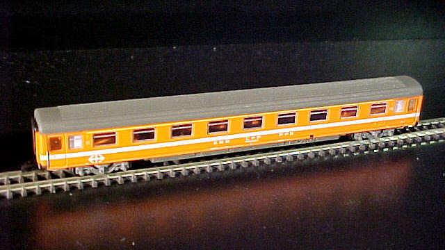 Wagen-Display Eurofima