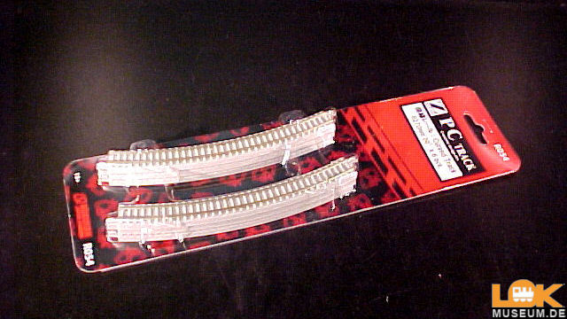 Gleis gebogen R270-30 Grad Betonschwellen 6 Stück