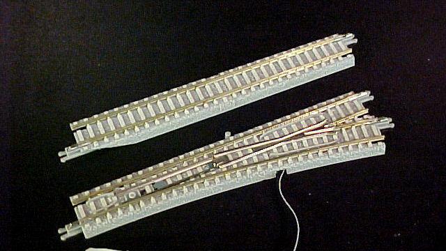 E-Weiche rechts R490-13 Grad 110mm Beton