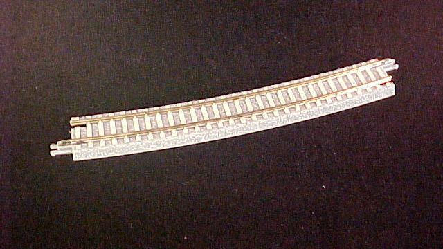 Gleis gebogen R490-13 Grad 2 Stück Beton