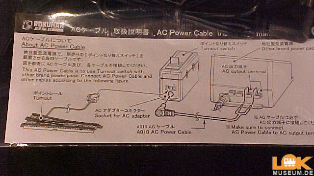 AC Weichen-Anschlusskabel